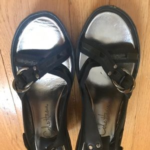 Cole hann Black sandal brand new size 8